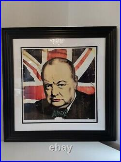 JJ Adams Signed Limited Edition Churchill with COA, Number 2 of 10