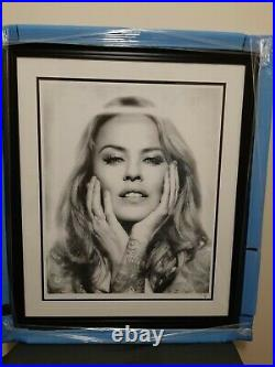 JJ Adams Signed Limited Edition KYLIE BLACK/WHITE, 2018 with COA