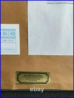 Jason Polan Silkscreen Print Limited edition 188/250 50 (+1) Giraffes Signed COA