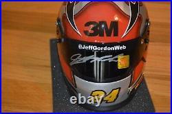 Jeff Gordon Signed NASCAR Limited Edition 3M 13 Scale Mini Helmet JG COA