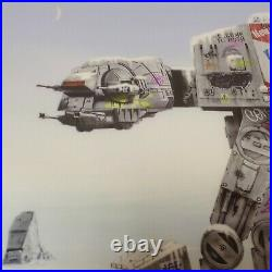 Jj Adams Imperial Walker Rare Limited Edition Framed Print + Coa