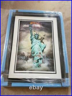Jj Adams Liberte- Rare Limited Edition Rare Framed Print + Coa