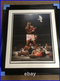Jj Adams Sting Like A Bee Ali Rare Limited Edition Framed Print + Coa
