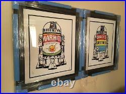Jj Adams'british Brands R2d2 Set' Rare Limited Print Framed + Coa New
