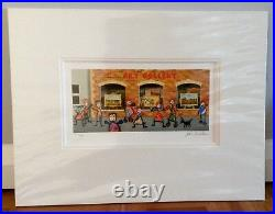 John Wilson Window Shopping 1 And 2, Matching Set, Signed Limited Edition, COA's