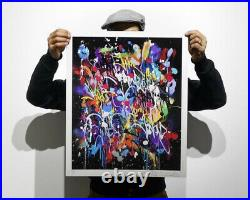 JonOne My World Limited Edition Print xx/407 Signed, Numbered, COA Sold Out