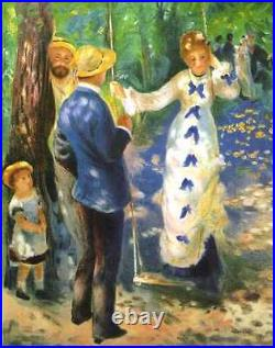 La Balancoire by Renoir, unframed lithograph print, limited edition, with COA