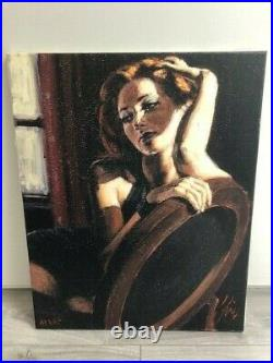 Laura by Fabian Perez Artist Proof AP Limited Edition unframed with COA