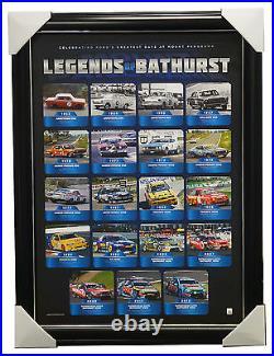 Legends of Bathurst Ford V8 Limited Edition Official Print Framed + COA