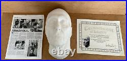 Limited Edition Peter Cushing Life Cast By William Forsche with signed COA