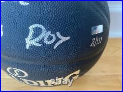 Luka Doncic Rookie of the Year Signed ROY Basketball Ball w Panini COA Limited
