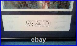 MAD MAGAZINE #400 ART LITHOGRAPH RARE LIMITED EDITION ARTIST SIGNED WithCOA