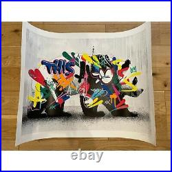 MARTIN WHATSON Panda with COA Signed Urban Art Silkscreen Limited to 250 from JP