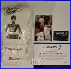 Manny pacquiao limited edition signed glove inc COA and Display Case