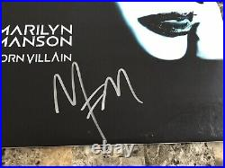 Marilyn Manson Rare Signed Autographed Born Villain Limited Vinyl Record BAS COA