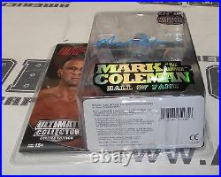 Mark Coleman Signed UFC Round 5 Action Figure PSA/DNA COA Limited Edition HOF #d