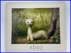 Mark Ryden Yoshi Signed numbered limited edition Lithograph with COA