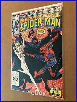 Marvel Comics 1983 Spectacular Spider-man #81 Signed Stan Lee Limited 8/25 Coa