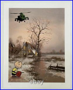Mason Storm Can Festival Signed Limited Edition Of 10 AP With COA Banksy