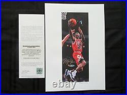 Michael Jordan Rare Signed Limited Edition 23/25 Litho by Arthur Miller COA UDA