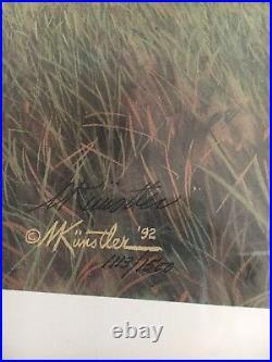 Mort Kunstler Lee's Old War Horse Limited Edition Civil War Print S/N COA