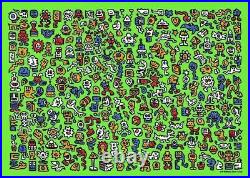 Mr Doodle,'Alien Town', New Limited Print, With COA and Proof of Purchase