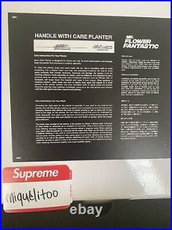 Mr. Flower Fantastic Air Jordan AJ3 Planter Very Limited Edition COA Hand Signed