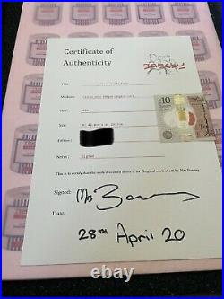 Mrs Banksy Tesco Toilet Paper Limited Edition Art Print Signed With Coa