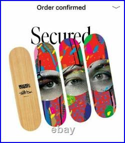 Paul Insect I SEE Skateboard Deck Set Limited Edition Signed CoA Confirmed Order