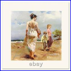 Pino Mediterranean Breeze Signed & Numbered Limited Edition Art COA
