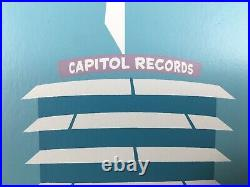 RARE SHAG CAPITOL RECORDS BLDG SERIGRAPH COA SIGNED Limited Edition