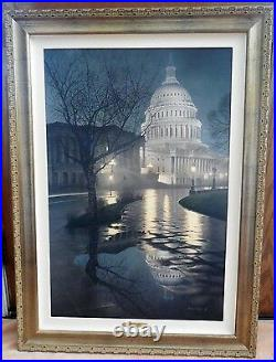 ROD CHASE Limited Edition LIBERTY'S LIGHT 30X20 Signed & Numbered 14/295 COA
