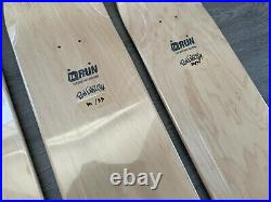 RON ENGLISH Skateboard Set Of 4 Decks Limited Edition Signed COA Numbered 30/35