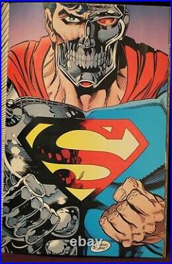 Return of Superman 5 Comics Signed Autographed Limited /10000 Dynamic Forces COA