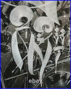 Right by Chaz Bojorquez 2016 Limited Edition with COA not Retna Banksy Defer