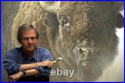 Robert BATEMAN On The Move Red Fox Limited Edition art print COA mint in folder
