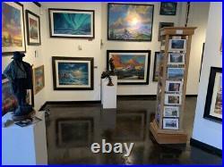 Robert BATEMAN Under The Canopy Toucan Limited Edition art print COA in folder