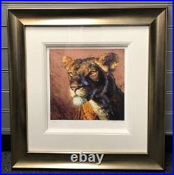 Rolf Harris Lioness Signed Limited Edition Print With Coa And Book A Life In Art