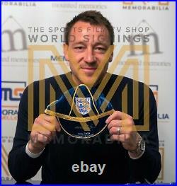 Signed John Terry England Football Cap Rare Limited Edition COA