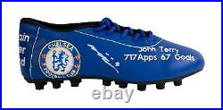 Signed John Terry Limited Edition Chelsea Fc Boot COA Photo Proof AFTAL