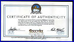 Soulfire Limited Signed Slipcase 1st Edition Volume 1 Rare # 374 / 500 Coa New