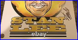 Stan Lee Roast Litho Signed by Stan Lee with COA Extremely Limited! SPIDER-MAN