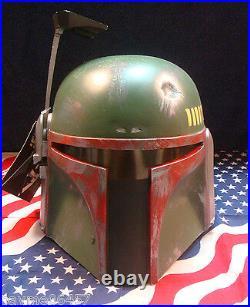 Star Wars Jeremy Bulloch Signed Boba Fett Mask Don Post 1995 COA Limited 113/500