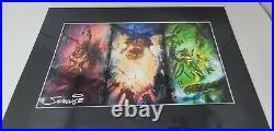StarCraft Triptych Limited Edition Poster Art Print Samwise Didier SIGNED COA