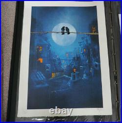 Super Moon Limited Ed Print of 20 Street artist graffiti Xenz with COA 2015