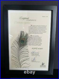 Swarovski 1998 Peacock Signed Numbered Limited Edition 21812 + BOX + COA +Others