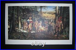 TAKING OF MARY JEMISON by ROBERT GRIFFING Limited Edn. Print 235/1250 Signed COA