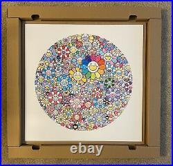 Takashi Murakami Thank You Wonderful Destiny Flower Print 100 Limited Signed COA