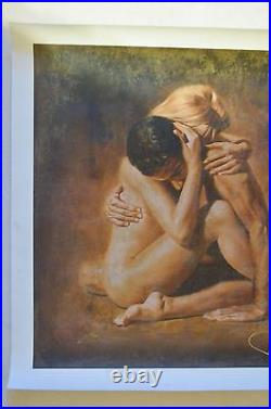 Tomasz Rut In Arte Nude Painting Limited Edition Giclee On Canvas Signed/# Coa