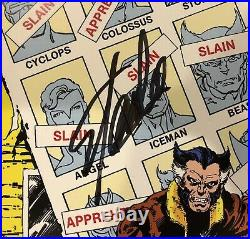 Uncanny X-Men #141 Litho KEY COVER Signed by Stan Lee with COA! LIMITED! MARVEL